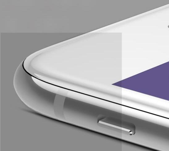 Kính Cường Lực 6D Cho Iphone 7/8 Plus Baseus - Trắng