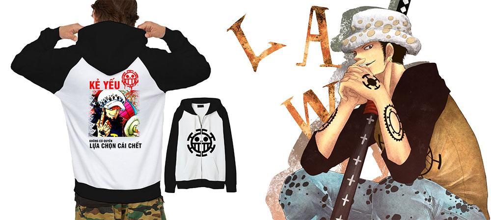 Áo Khoác Law One Piece Và Logo