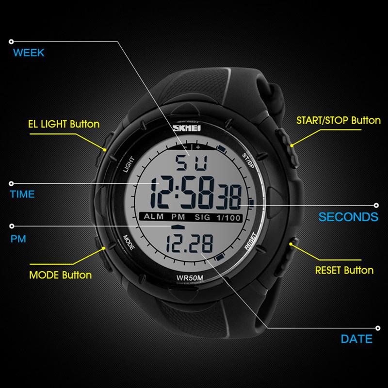 Đồng hồ Nam thể thao SKMEI 1025 - DHA522