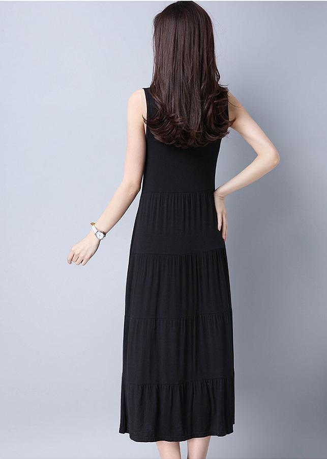 Đầm suông nữ dáng dài freesize db16