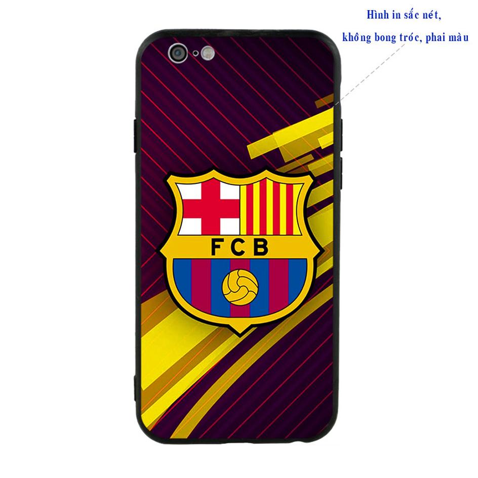 Ốp Lưng Viền TPU Cho iPhone 6 / 6S - Clb Barcelona 01