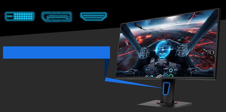 Màn Hình Gaming Asus VG258Q 25inch FullHD 1ms 144Hz FreeSync TN - Hàng Chính Hãng