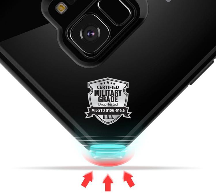 Ốp Lưng Samsung Galaxy S9 Spigen Ultra Hybrid - Hàng Chính Hãng