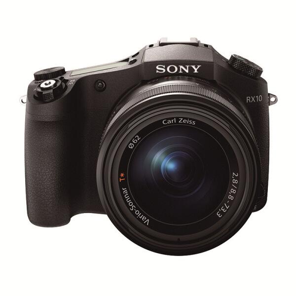 Máy Ảnh Thẻ Nhớ Sony DSC-RX10 - Ống Kính Zeiss 24-200mm F2.8 (WIFI / NFC RX10M1), Đen