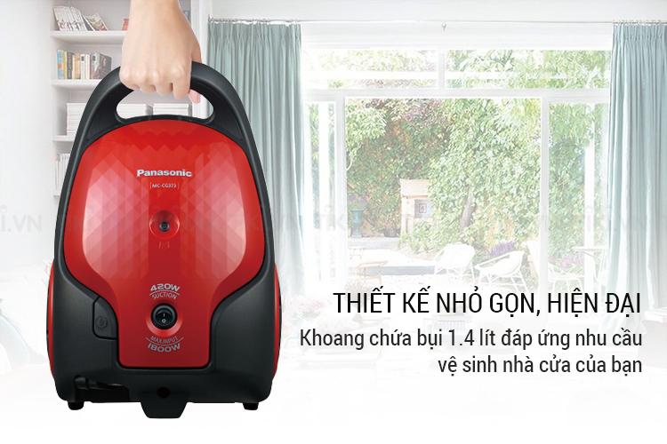 Máy Hút Bụi Panasonic PAHB-MC-CG373RN46 (1800W)