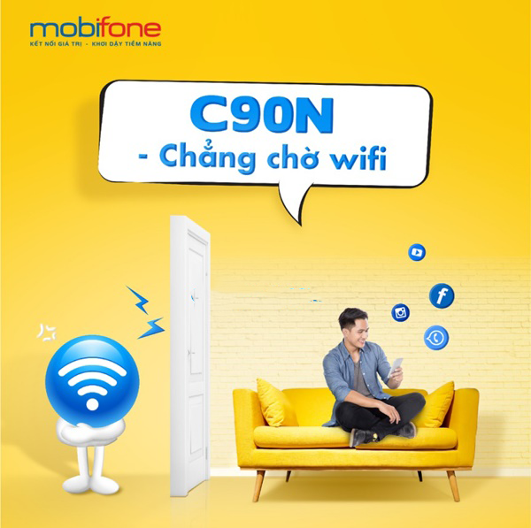 Sim 4G Mobifone C90N Tặng 4GB / Ngày Và 1000 Phút Nội Mạng - Hàng Chính Hãng