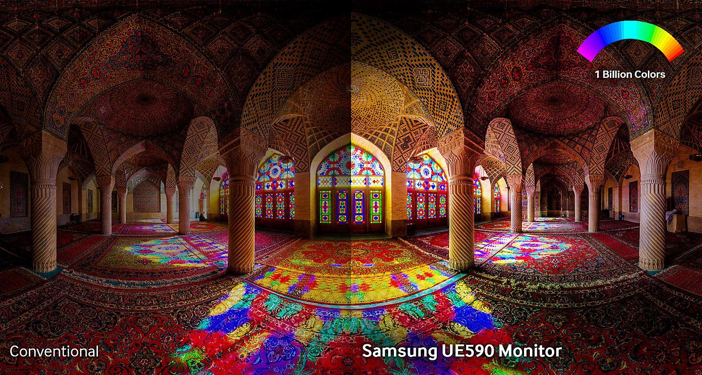 Màn Hình Samsung LU28E590DS/XV 28inch 4K 1ms 60Hz FreeSync TN - Hàng Chính Hãng