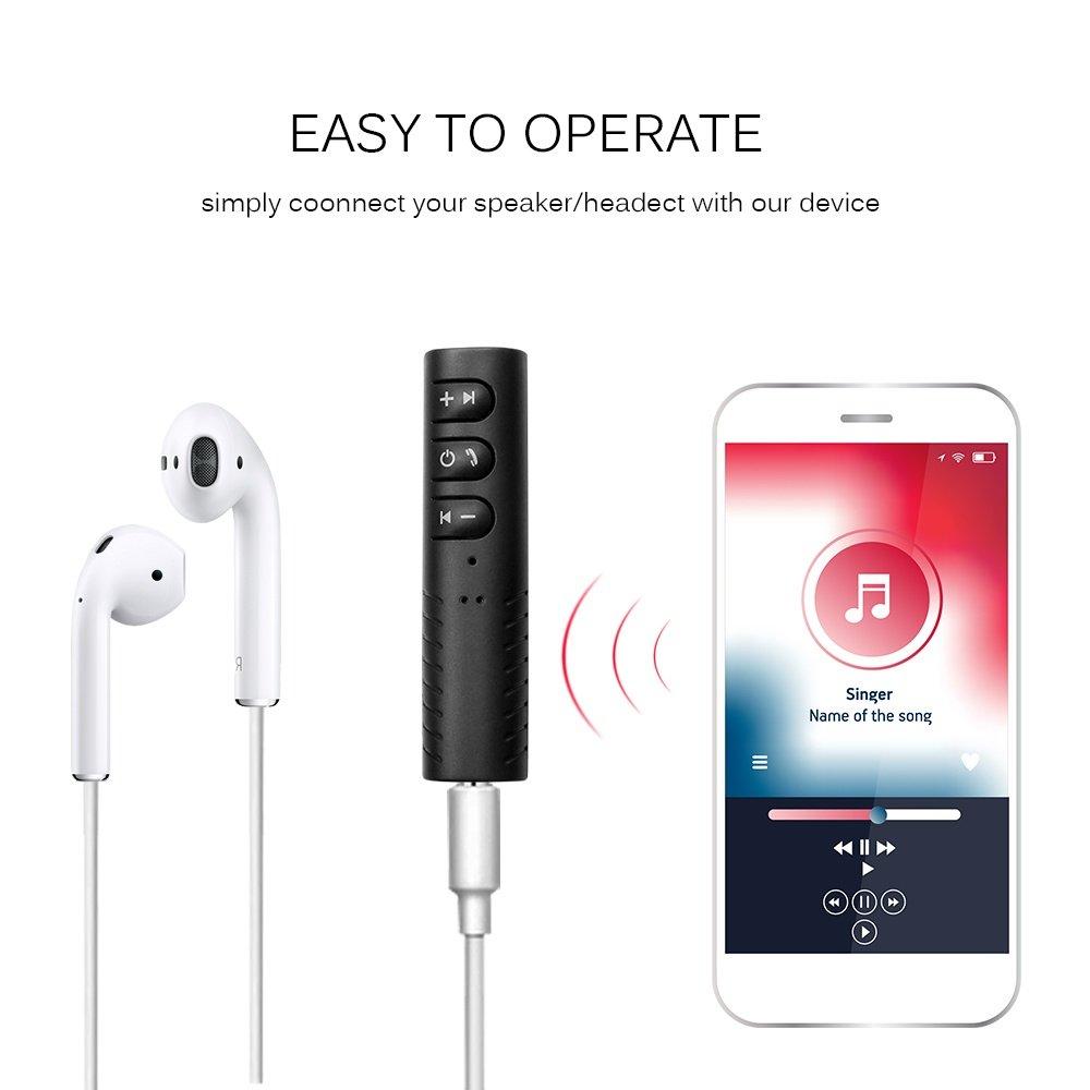 Thiết Bị Chuyển Đổi Âm Thanh Có Dây Thành Không Dây Bluetooth V4.1 Adapter BTA-08