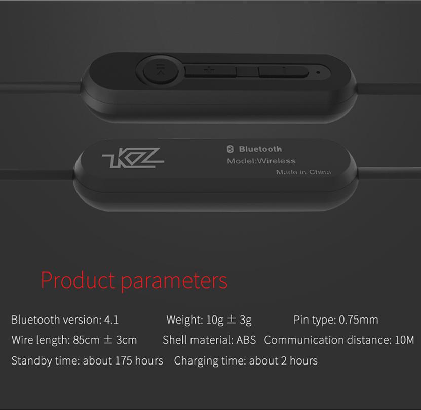 Cáp Bluetooth cho tai nghe Knowledge Zennith KZ