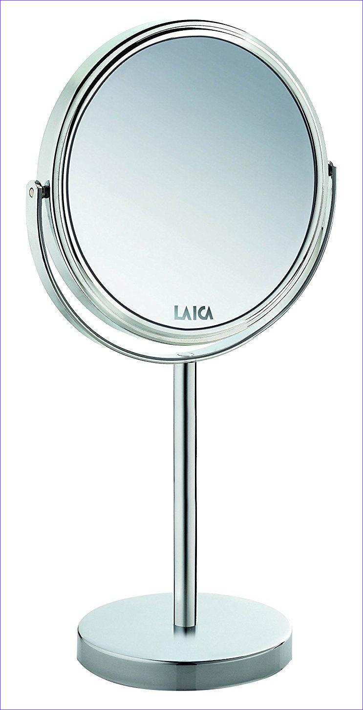 Gương trang điểm mạ Crom sáng bóng LAICA PC5003 - Phóng đại 7X 2