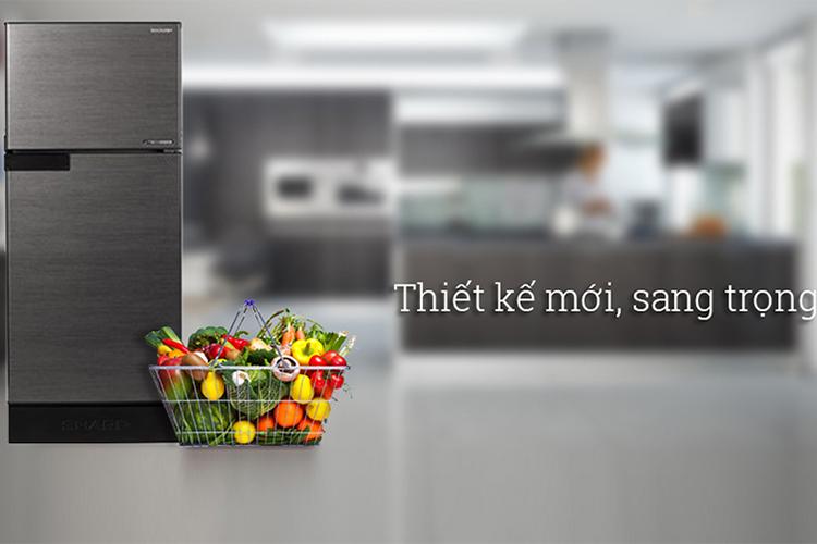Tủ Lạnh Inverter Sharp SJ-X176E-DSS (150L) - Hàng chính hãng = 3.939.000đ