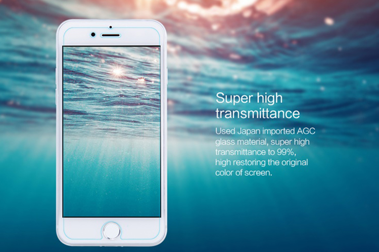 Kính Cường Lực Nillkin 9H+ PRO iPhone 7 Plus / 8 Plus - Hàng Chính Hãng