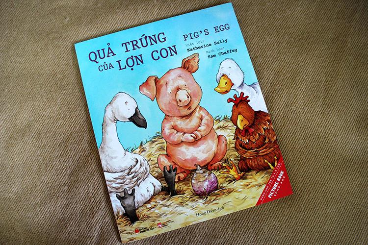 Quả Trứng Của Lợn Con – Pig'S Egg