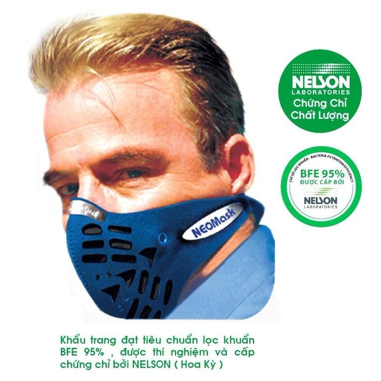 Khẩu trang chống bụi kháng khuẩn Neomask