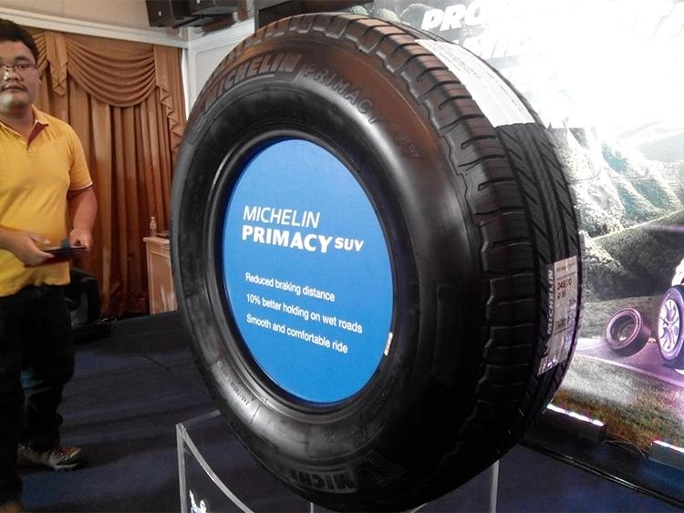 Lốp Xe Michelin Primacy SUV 235/60R17 - Miễn phí lắp đặt