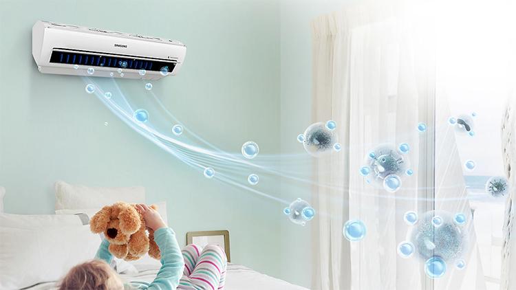 Máy Lạnh Inverter Samsung AR10MVFSBWKNSV (1.0HP)