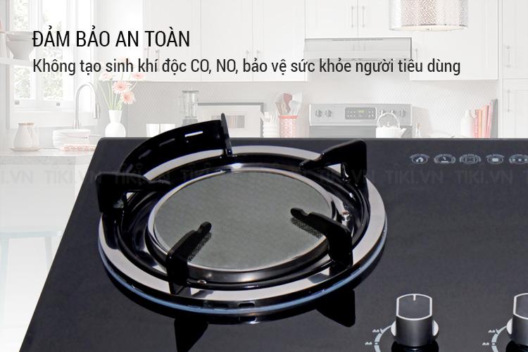 Bếp Gas Âm Hồng Ngoại Có Pép Hâm Kaff KF-208I