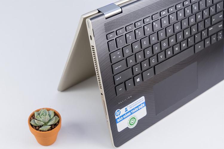 Laptop HP Pavilion x360 14-ba129TU 3MR85PA Core i5-8250U/Win10 (14 inch) (Gold) - Hàng Chính Hãng