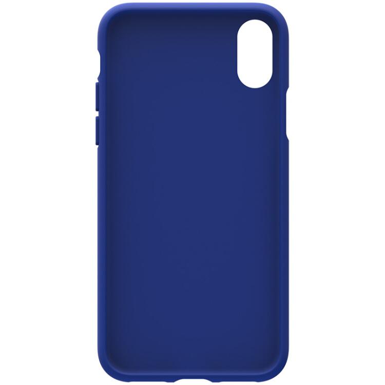 Ốp Lưng Silicone Adidas Dành Cho Iphone X – Xanh Dương