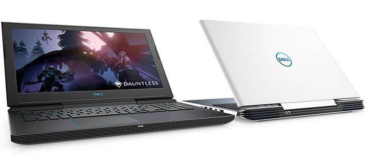 Laptop Dell G7 7588 N7588F Core i7-8750H/ Free Dos (15.6 inch) - Đen - Hàng Chính Hãng
