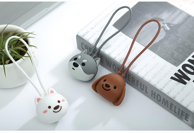 Cáp Sạc Hình Con Chó Dostyle Jiaodong Custom JOY&DOGA Phiên Bản Giới Hạn Cổng Lightning Đạt Chuẩn MFI Cho Apple iPhone / iPad- BLINK