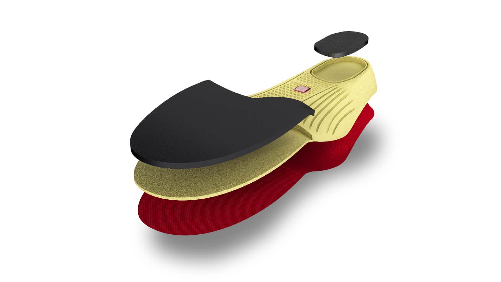 Lót giày thể thao bảo vệ bàn chân Spenco Walk Runner M38-390-2-Size 2 ( 37-39)