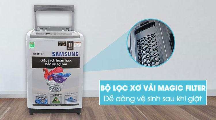 Máy Giặt Cửa Trên Samsung WA85M5120SG/SV (8.5kg) - Xám