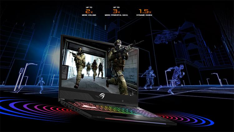 Laptop Gaming Asus ROG Strix SCAR II GL504GM-ES044T Core i7-8750H/Win10 (15.6 inch) (Black) - Hàng Chính Hãng