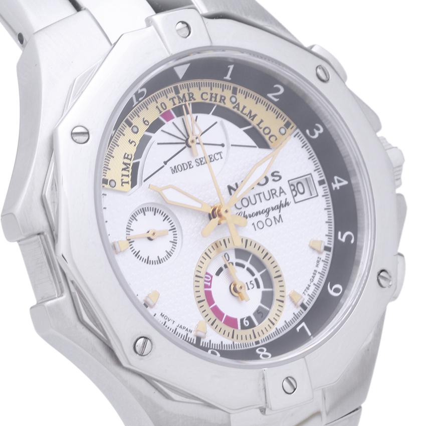 Đồng hồ NEOS N-50516M nam dây thép