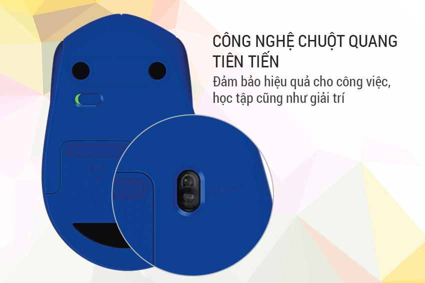 Chuột Không Dây Logitech M331 Silent Plus  = 295.000 ₫
