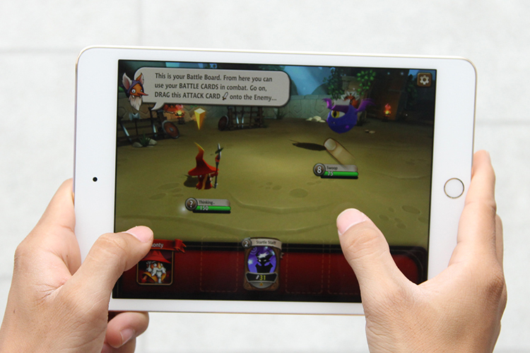 iPad Mini 4 128GB WiFi (Vàng) - Hàng Chính Hãng