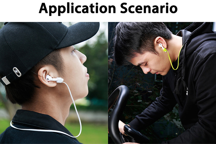 Dây Cáp Nối Chống Mất Tai Nghe Bluetooth Baseus Earpods Apple (Màu Ngẫu Nhiên)