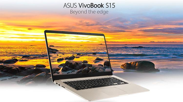 Laptop Asus VivoBook S15 S510UN-BQ276T Core i5-8250U/Win10 (15.6 inch) - Gold - Hàng Chính Hãng