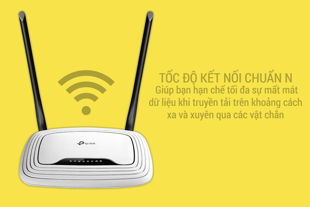 TP-Link  TL-WR841N - Router Wifi Chuẩn N Tốc Độ 300Mbps