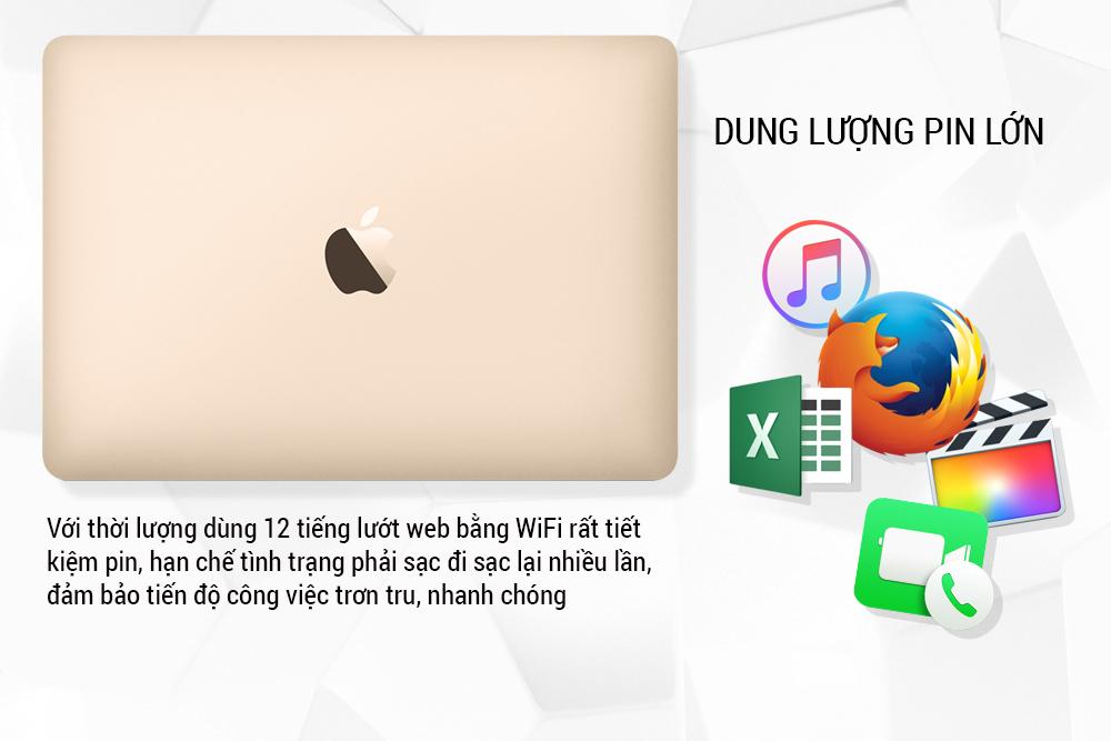 Macbook 12inch 2017 - 256GB SSD - MNYK2 (Likenew 99%)