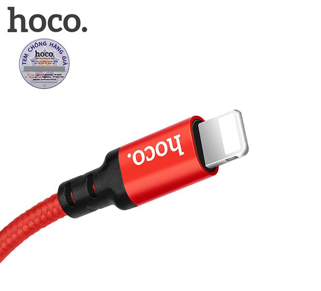 Cáp sạc HoCo X14 cổng Lightning dài 1m