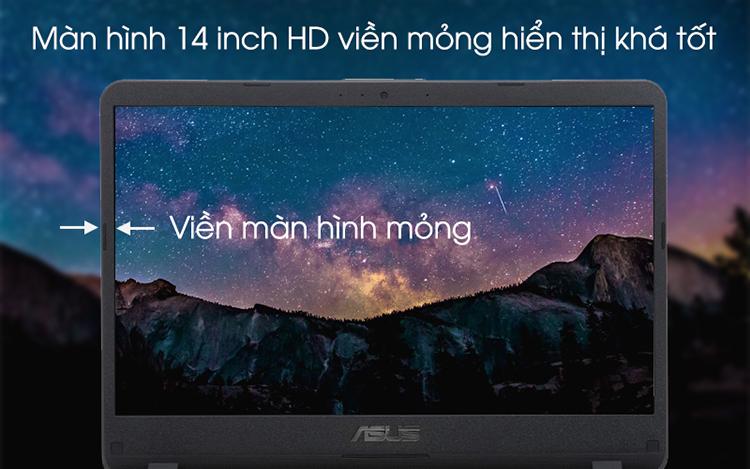 Laptop Asus Vivobook X407UB-BV145T Core i5-8250U/Win10 (14 inch) (Gold) - Hàng Chính Hãng