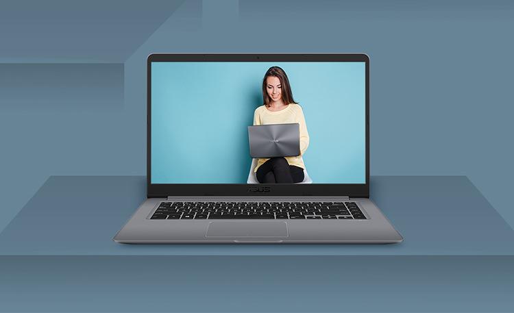 Laptop Asus Vivobook A510UA-BR871T Core i5-8250U/Win10 (15.6 inch) - Vàng - Hàng Chính Hãng
