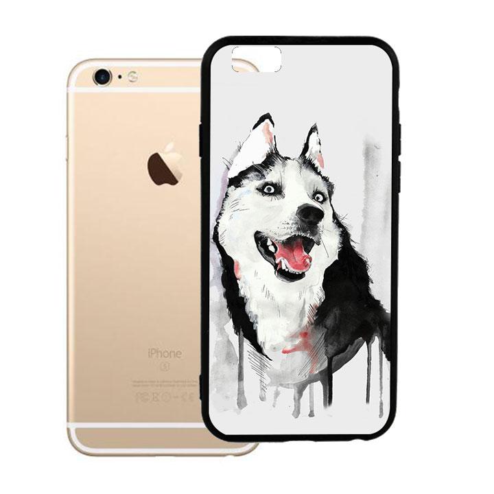 Ốp lưng viền TPU cao cấp cho Iphone 6 Plus - Hurky 01