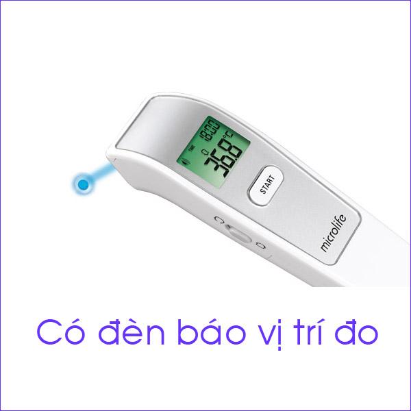 Nhiệt kế hồng ngoại đo trán Microlife FR1MF1 tặng kèm 03 bình trữ sữa Premia 5