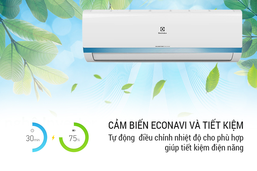 Máy lạnh Inverter Electrolux 1.0 HP ESV09CRK-A2