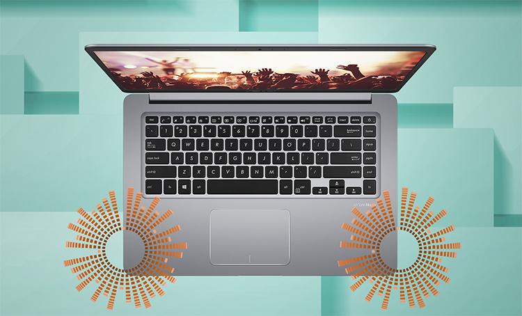 Laptop Asus Vivobook A411UA-BV445T Core i5-8250U/Win10 (14.1 inch) - Gold - Hàng Chính Hãng