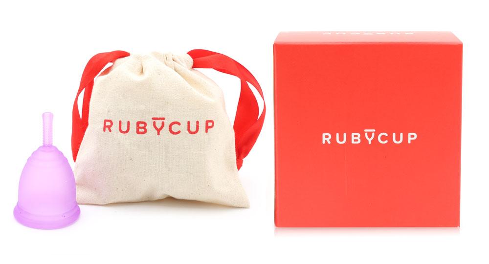 Cốc Nguyệt San Ruby Cup Màu Tím