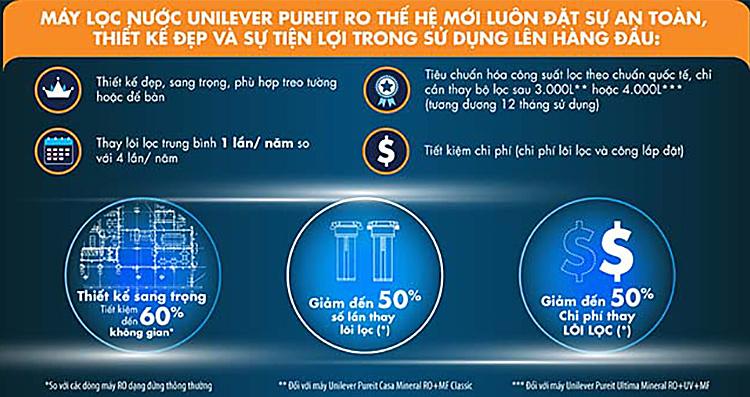 Máy Lọc Nước Unilever Pureit Ultima RO + UV + MF 67370949 6