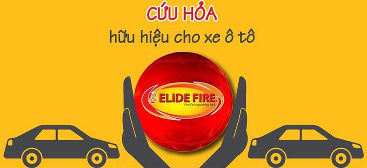 Bóng cứu hỏa Elide Fire Ball ELB01