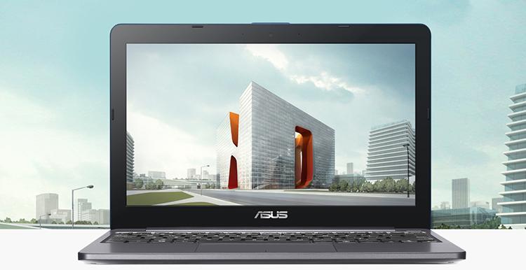 Laptop Asus E203MAH-FD004T Celeron N4000/Win10 (11.6 inch) (Grey) - Hàng Chính Hãng