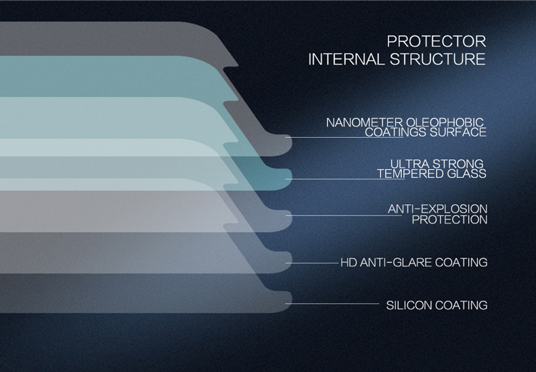 Miếng Dán Cường Lực Samsung Galaxy J7 Pro Độ Cứng 9H Nillkin - Hàng Chính Hãng