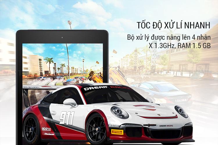 Máy Tính Bảng Kindle Fire HD8 (7th) Wifi 16GB (2017) - Hàng Chính Hãng
