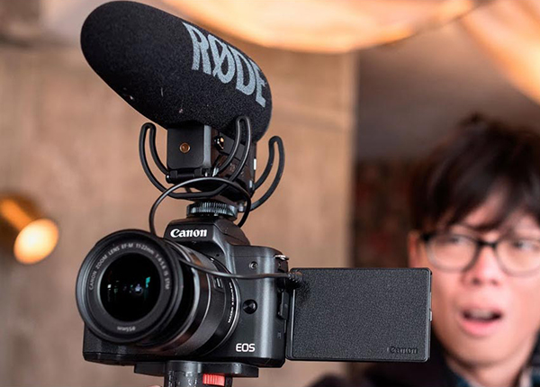 Máy Ảnh Canon EOS M50 + Kit 15-45mm (24.1MP) - Hàng Chính hãng = 13.990.000đ