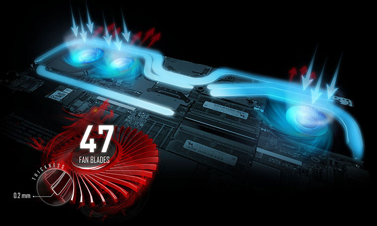 Laptop Gaming MSI Stealth GS63 8RD-006VN Core i7-8750H/Win10 (15.6 inch) - Black - Hàng Chính Hãng